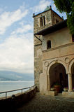 Santa Caterina del Sasso Royalty Free Stock Photos