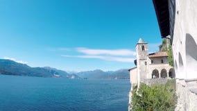 Santa Caterina del Sasso Italia almacen de video