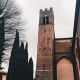 Santa Caterina di Siena. A sanctuary in tuscany Royalty Free Stock Images