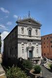 Santa Caterina en Magnanapoli i Rome Arkivbild