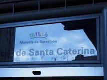 Santa Caterina Fresh Food Market in Barcelona Stock Photography