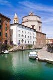 Santa Caterina kościół, Leghorn, Włochy fotografia royalty free