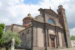 Santa Caterina kościół w Abbasanta Sardinia Włochy zdjęcia royalty free