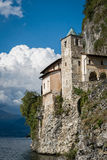 Santa Caterina Monastery op Meer Maggiore, Italië Stock Afbeeldingen