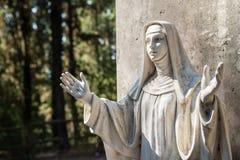 Santa Caterina Statue Royaltyfri Bild