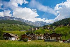 Free Santa Caterina Valfurva Landscape , Renowned Winter And Summer Tourist Resort In The Alps, Valtellina, Italy Stock Photos - 156298773