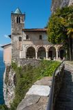 Santa Catherina del Sasso Royalty Free Stock Photos
