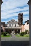Santa Cecilia em Trastevere Imagem de Stock