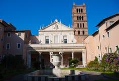 Santa Cecilia in Rome Royalty Free Stock Photography