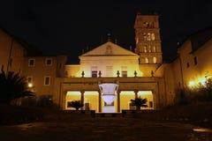 Santa Cecilia in Rome Stock Photo