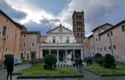 Santa Cecilia, Rzym, Włochy zdjęcia royalty free