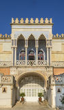 Santa cesarea terme,Moorish palace Royalty Free Stock Photo