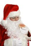Santa Cheats On Diet Stock Photos