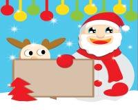 Santa Chef för juldag Royaltyfria Bilder