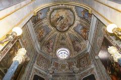 Santa Chiara church, Naples Italy Stock Image