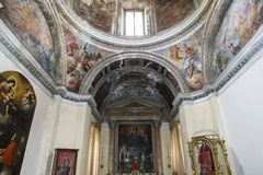 Santa Chiara church, Naples Italy Stock Photography