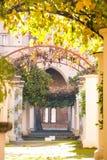 Santa Chiara cloister Stock Photos