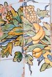 Santa Chiara cloister Royalty Free Stock Images