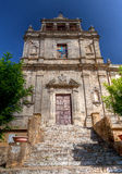 Santa Chiara kyrka Enna, Sicilien, Italien Royaltyfri Fotografi