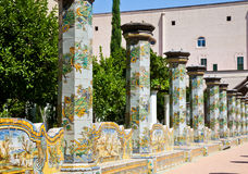 Santa Chiara Monastery - Naples Royalty Free Stock Photo
