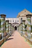 Santa Chiara Monastery - Naples Stock Images