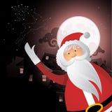 Santa At Christmas Stock Photo