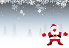 Santa Christmas Background Royalty Free Stock Photo