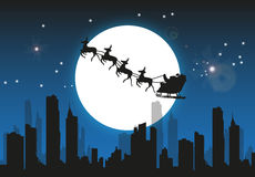 Santa Christmas Background Photos stock