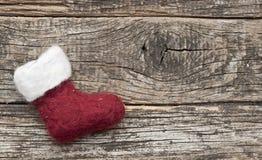 Santa or christmas boot Stock Image