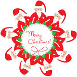 Santa christmas decoration Royalty Free Stock Photo