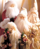 Santa Christmas decorations Royalty Free Stock Image