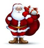 Santa christmas design Royalty Free Stock Photos