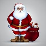 Santa christmas design Royalty Free Stock Image