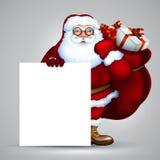 Santa christmas design Royalty Free Stock Photo