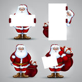 Santa christmas design Royalty Free Stock Photos