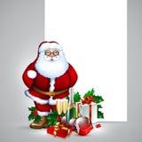 Santa Christmas design Stock Image