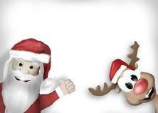 Santa Christmas Design Stock Photography