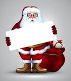 Santa christmas design Stock Images