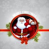 Santa Christmas design Stock Photo