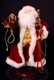 Santa Christmas Figure Fotografering för Bildbyråer