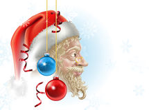 Santa christmas illustration Royalty Free Stock Images