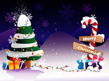 Santa christmas illustration Stock Images