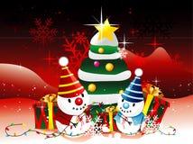 Santa christmas illustration Stock Photos