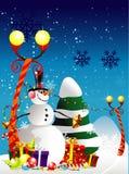 Santa christmas illustration Royalty Free Stock Image