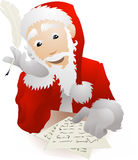 Santa Christmas List letters Stock Photo