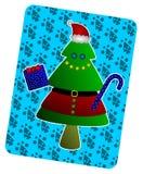 Santa Christmas tree Stock Photos