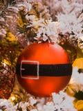 Santa Christmas Tree Ornament Stock Photo