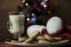 Santa ciasteczka Fotografia Stock