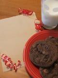 Santa ciasteczka Zdjęcia Stock