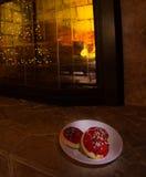Santa ciasteczka Zdjęcie Stock